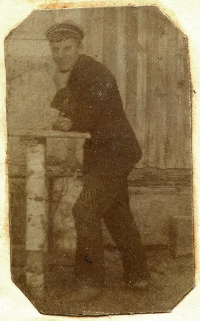 Antoni Kryj, I plutonowy.  Fotografia w sztambuchu Henryka Seweryna Zawadzkiego - Końskie 1918. Sztambuch w zbiorach KW.