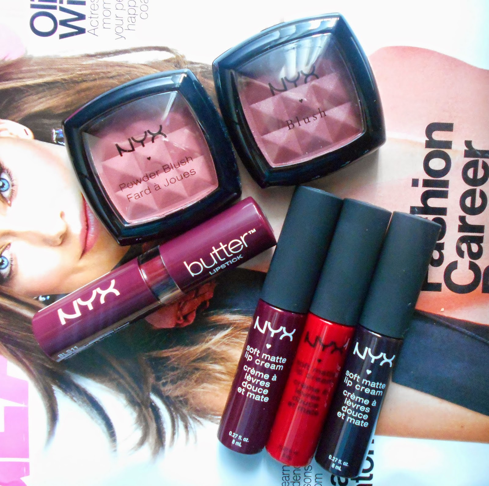 NYX Fall Lip Colors! (Vampy Edition!)