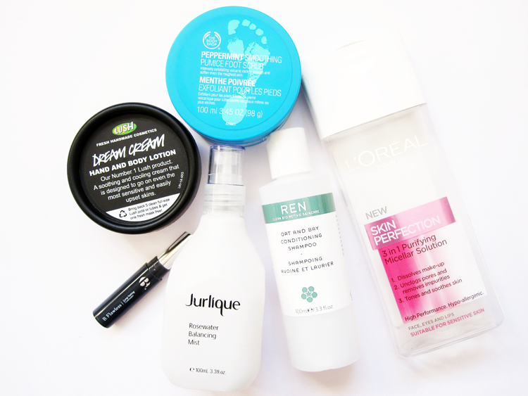 June Empties / Products I've Used Up