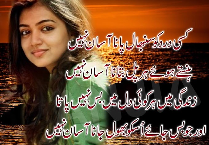 New Urdu pic poetry sad love shayari quotes