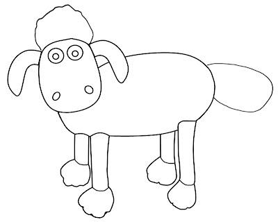 Belajar Mewarnai Shaun The Sheep