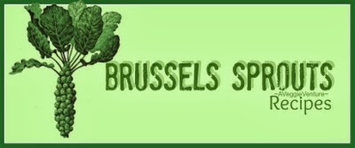 Brussels Sprouts Recipes, a collection from A Veggie Venture