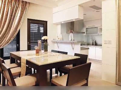 Gambar Desain Dapur dan Ruang Makan
