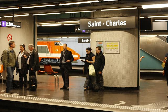 Marseille Saint-Charles Metro
