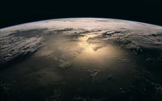 Earth Space Desktop Wallpaper 1440x900