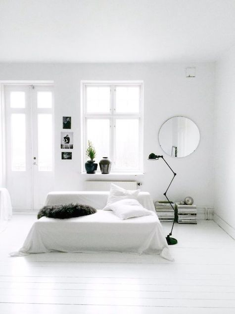 The stunning monochrome home of a Swedish stylist