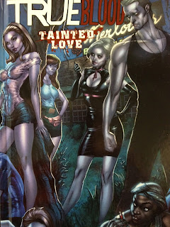cover of the True Blood comic book Tainted Love