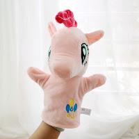 Bootleg Plush Handpuppet Pinkie Pie