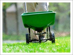 lawn fertilizer application