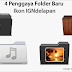 Membuat Icons Folder dengan Tesktur Kayu di Inkscape