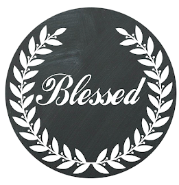 Blessed Chalkboard Printable
