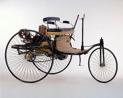 بالصور أول سيارة في تاريخ البشرية في عام 1886