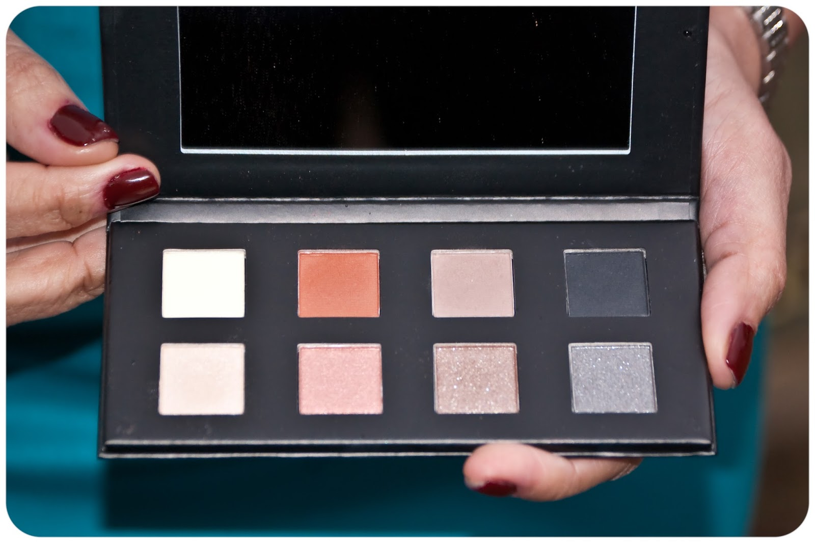 ROB SCHEPPY FOR 'TINI BEAUTY SHADOW PALETTE