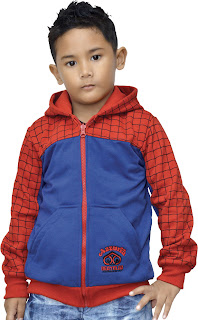 JAKET ANAK SPIDERMAN