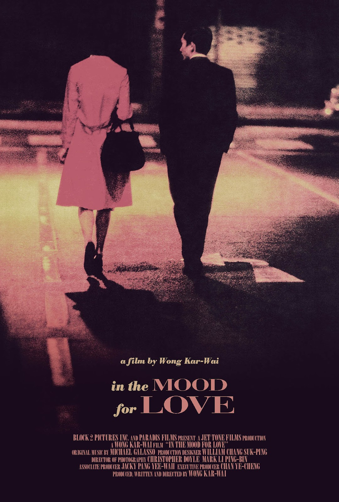 in the mood for love The word is that in the mood for love, wong kar-wai's latest urban fantasia about two neighbors whose spouses are having an affair, is a departure for the director for aficionados, it's a welcome return to the contemplative tone of his earlier mood-drenched period piece, days of being wild true enough in the mood for.