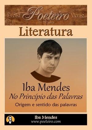 No Princípio das Palavras, de Iba Mendes