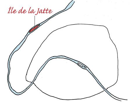 Ile de la Jatte by Yukié Matsushita