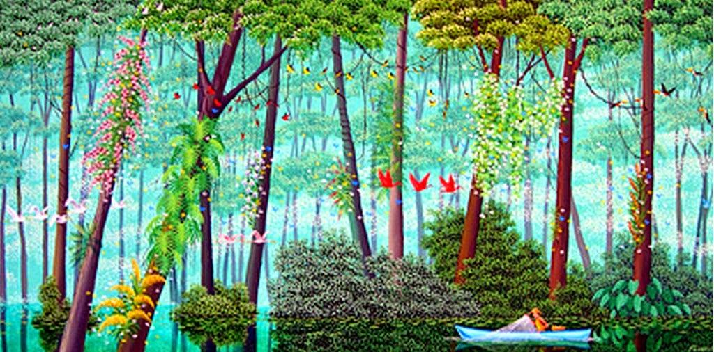 pinturas-primitivas-de-paisajes