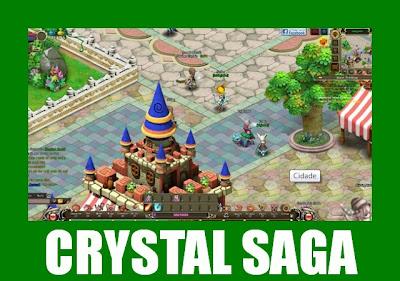 crystal saga mmorpg 2d pra jogar online