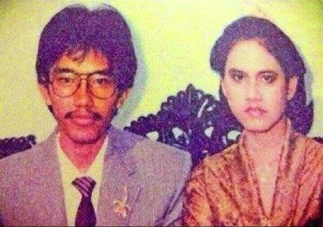 foto pernikahan jokowi iriana pertunangan