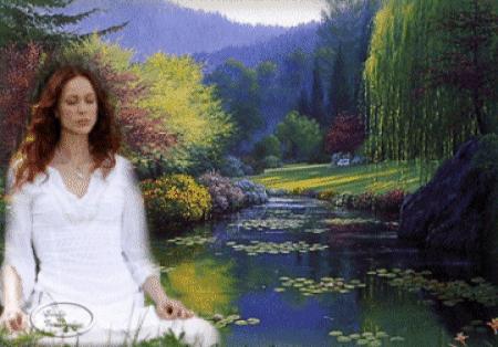 A Meditação acontece no silêncio interior.