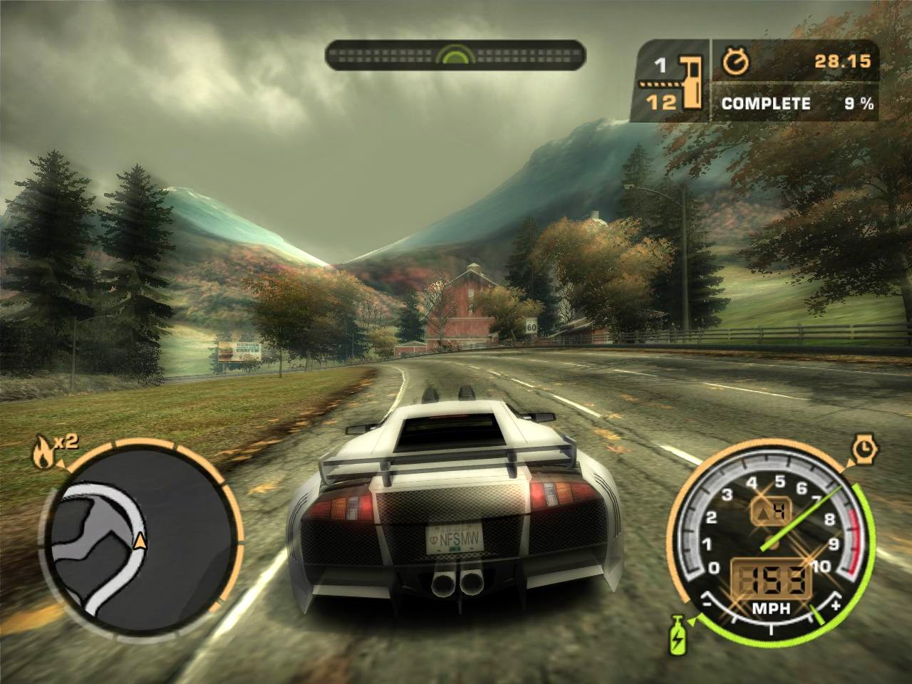 شرح تحميل وتتبيث لعبة  Need For Speed Most Wanted  مضغوطة بحجم 354 MB