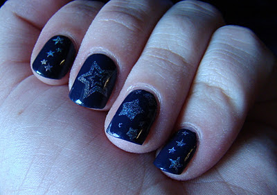 OPI Roadhouse Blues Color Club Worth the Risque Konad
