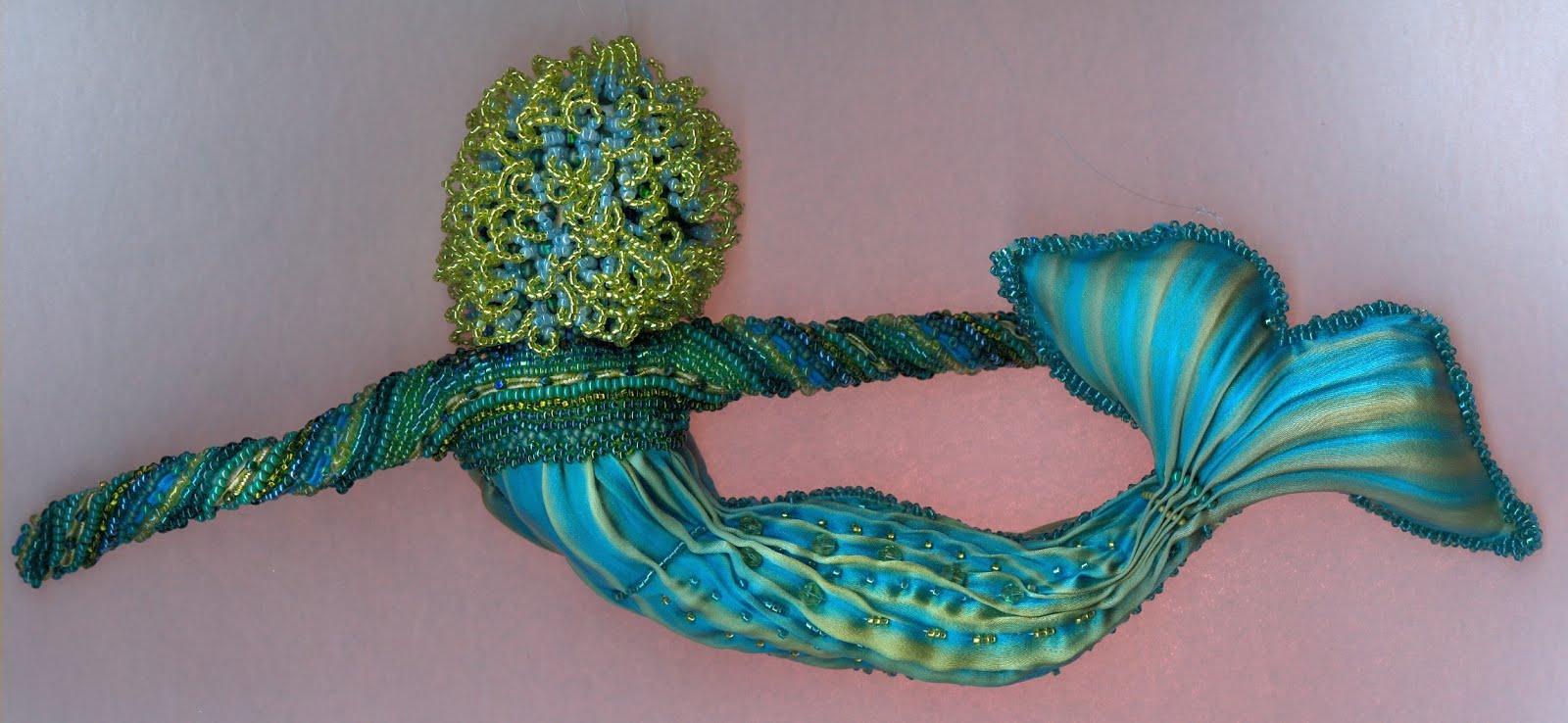 back of mermaid
