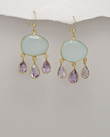 Splenderosa's Semi-Precious Earrings
