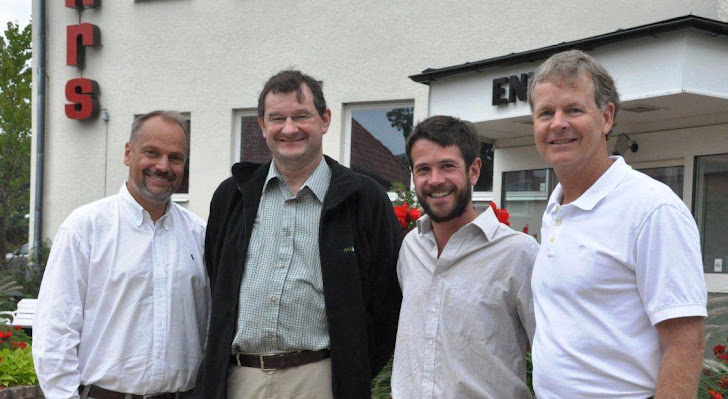Dr. Berty van Hensbergen, UK, Klas Bengtsson, Sweden, Jean Bouichou, Chile, Bruce Uhler, Sweden