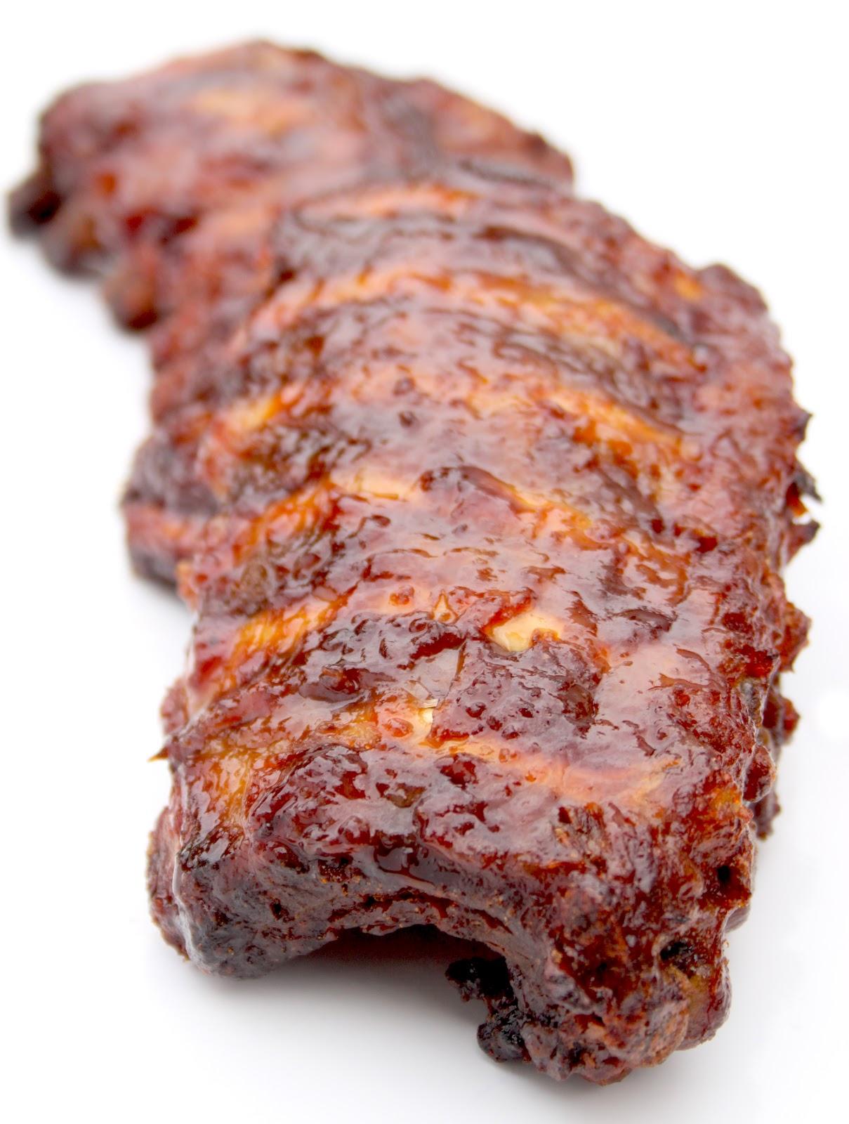 La cuisine de bernard travers de porc grill s sauce barbecue - Carbonade de porc grillee ...