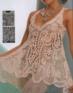Hermosa Musculosa A Crochet