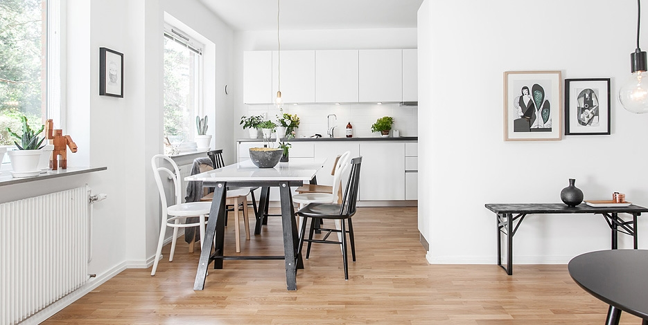 inspiring homes: swedish home in göteborg | nordic days -flor