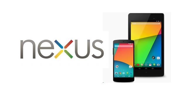 Google Nexus 5 and Google Nexus 7