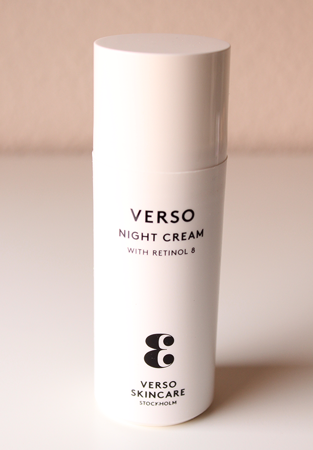Night Cream de Verso