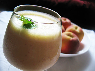 Peach Lime Lassi