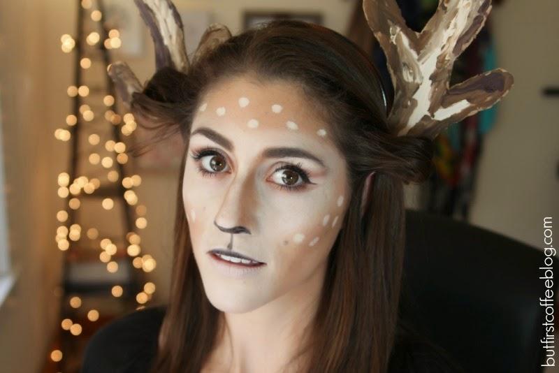 Oh Deer Makeup Tutorial u0026 Halloween Makeup Removal (u0026 Urban Decay ...