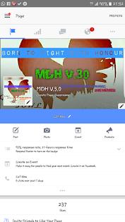 MDH V.3.0 pages kami di Facebook