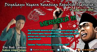 Dirgahayu NKRI 68 Tahun 17 Agustus 2013