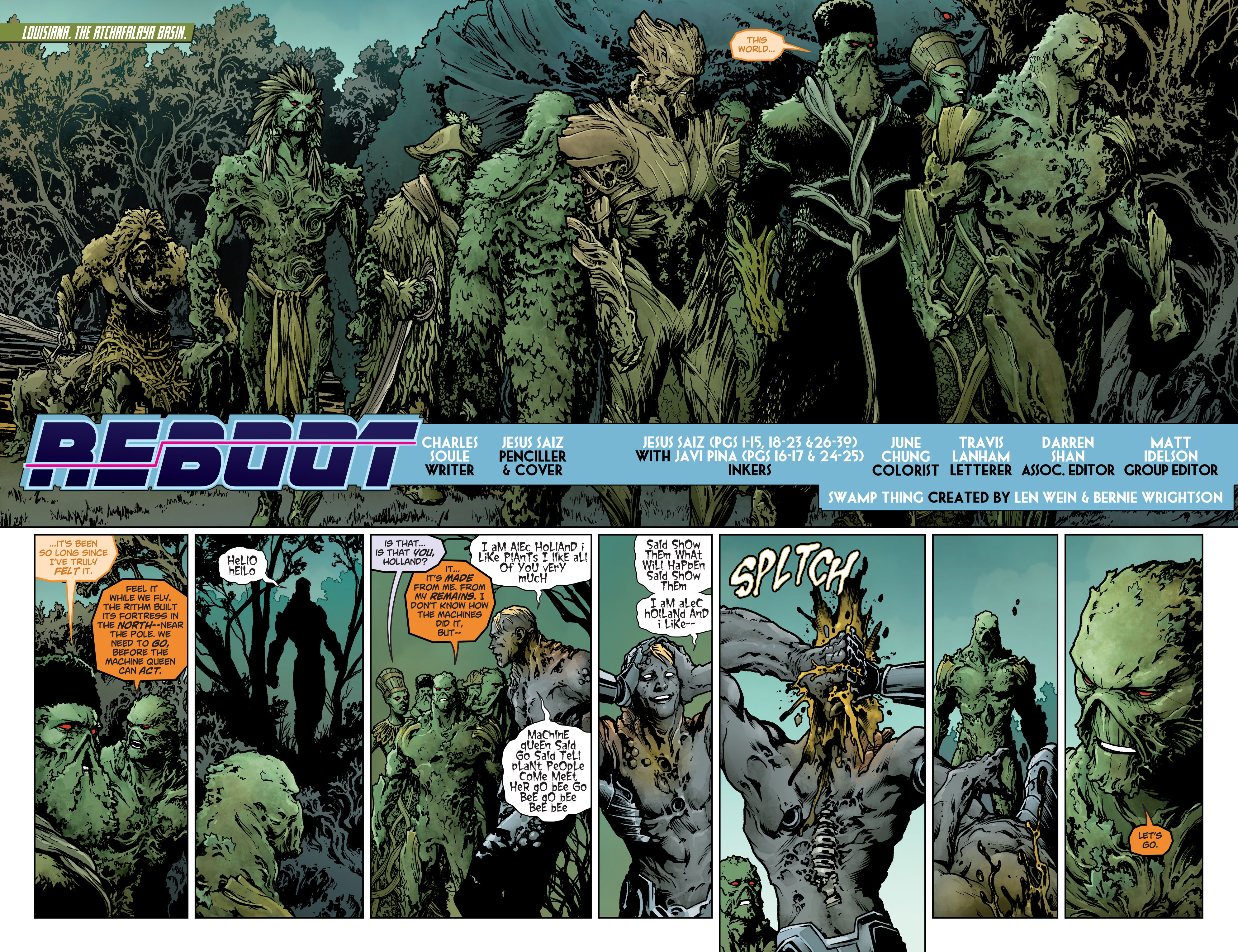 Swamp Thing (2011) Issue #40 #45 - English 9