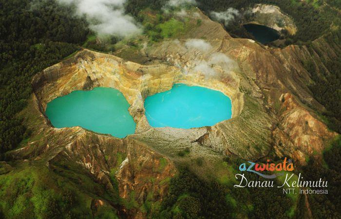 wisata danau kelimutu sekeping surga tersebunyi di pulau flores rh azwisata com
