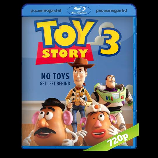 Toy Story 3 | 2010 | BRRip 720p | Audio Dual Latino 5.1 – Ingles + SUB