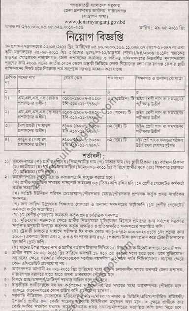 all result of bangladesh  dc narayanganj