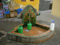 water fountain in the kasbah tangier