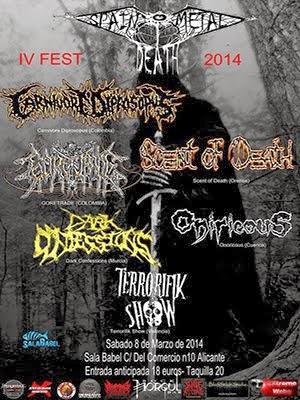 4 Spain Death Metal Fest