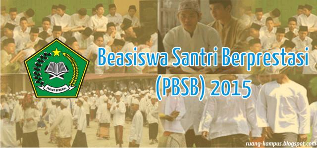 Pengumuman Hasil Beasiswa Santri Berprestasi (PBSB) Kemenag 2015