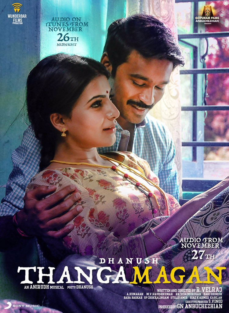 Watch ThangaMagan (2015) Full Audio Songs Mp3 Jukebox Vevo 320Kbps Video Songs With Lyrics Youtube HD Watch Online Free Download