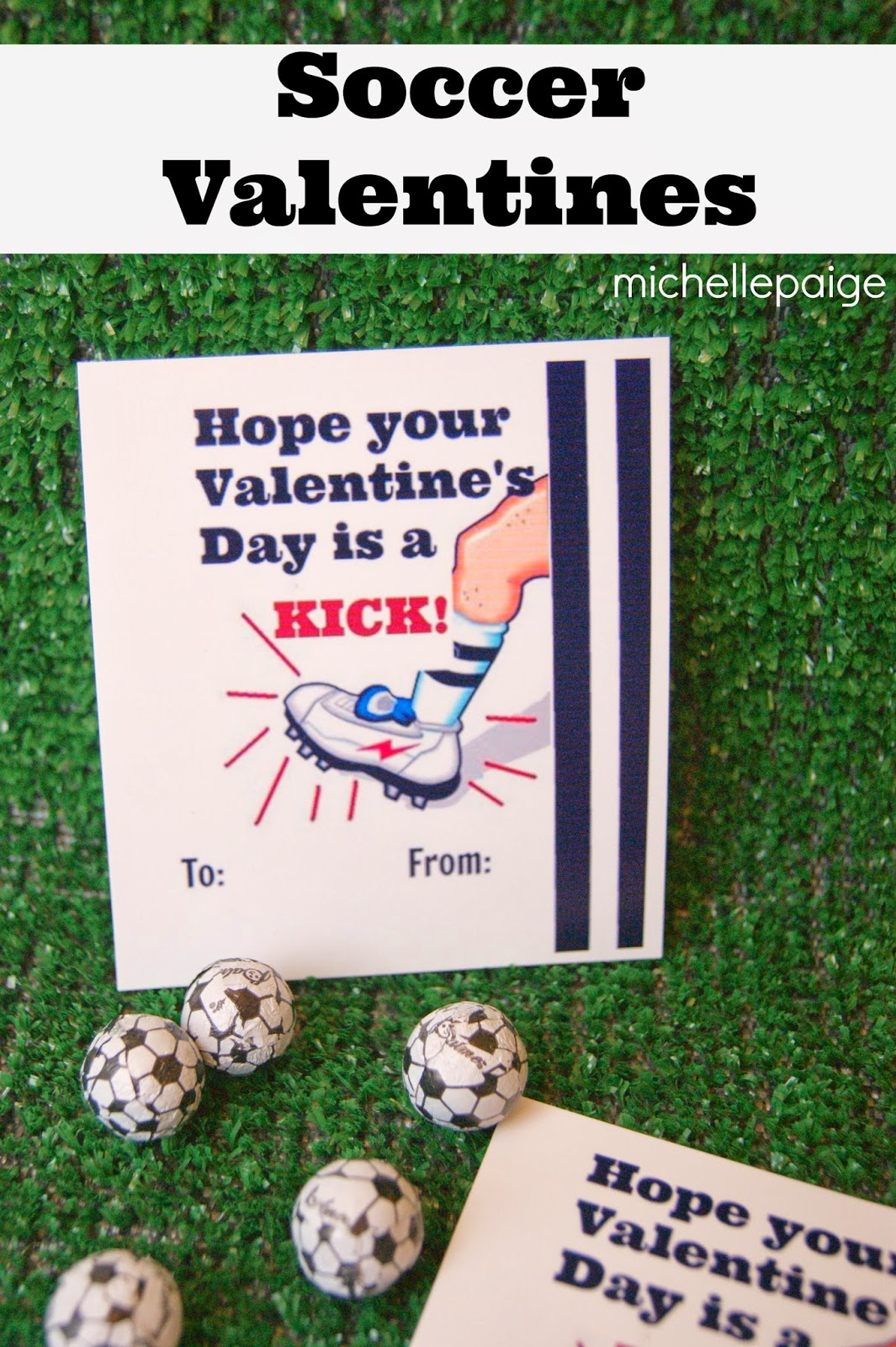 michelle paige blogs: Valentines for Boys-- Printable Soccer ...