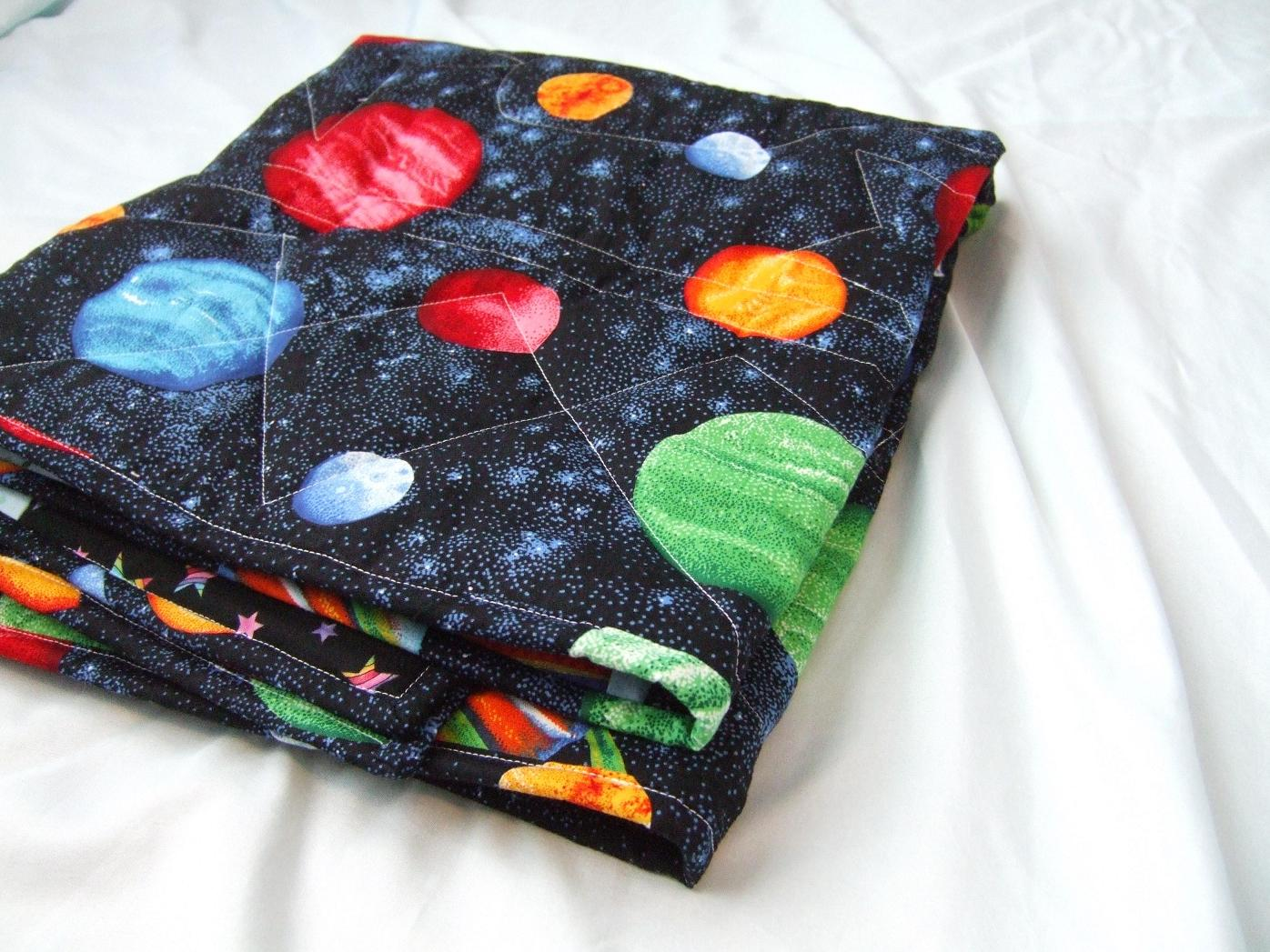 Lilyquilt blogger 39 s quilt festival blast off rocket for Space baby fabric
