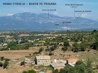 El Puig des de la baixada del Serrat de la Madrona